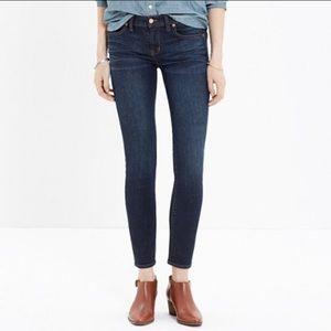 Madewell Jeans Skinny Skinny Crop 24 Retail $128